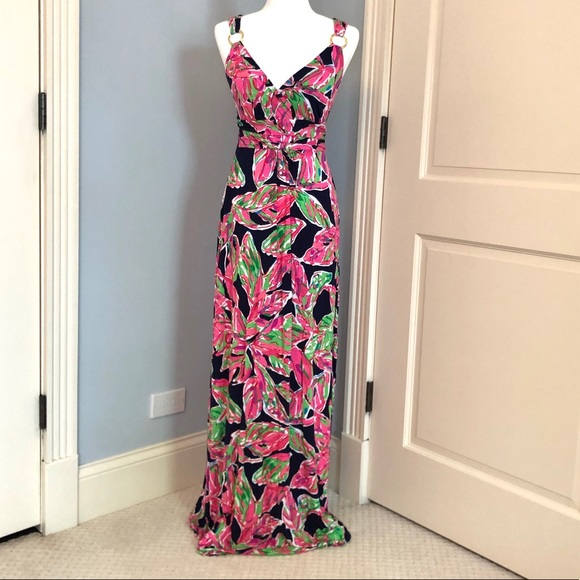 Lilly Pulitzer Dresses & Skirts - EUC Lilly Pulitzer Maxi Dress - Extra Small
